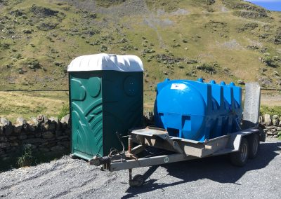 2000 litre towable water bowser
