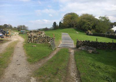 Trackmat road Finsthwaite